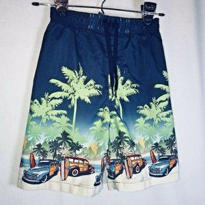 Boys Jumping Beans Woodie Surf Boards Trunks